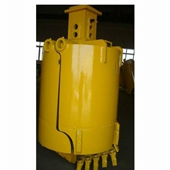 Openable /Mud drilling bucket for rotary drilling rig