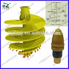 Rock Drilling Auger, Suitable for Drilling Medium to Strong Rock