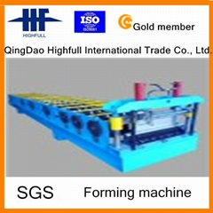 (Metal Roofing/Glazed/Steel) Tile Roll Forming Machine