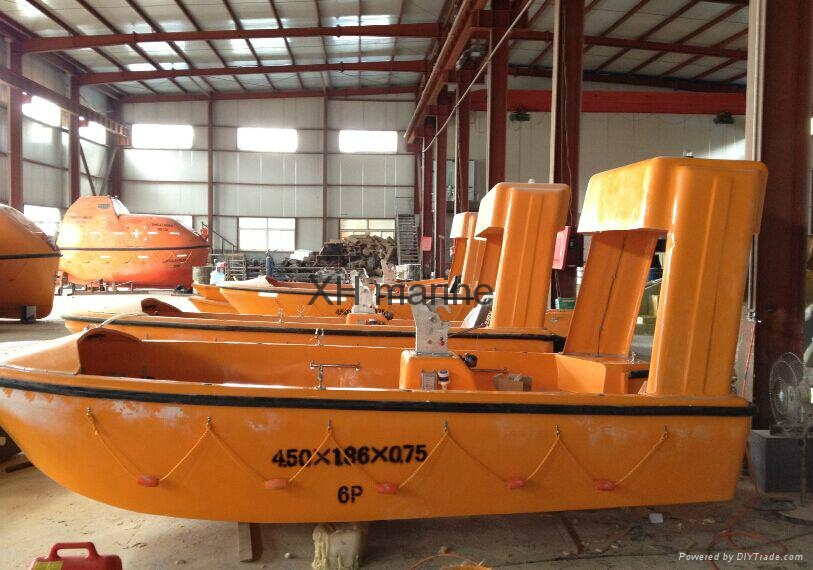 Marine lifesaving equipment rescue life boat ABS approved 2