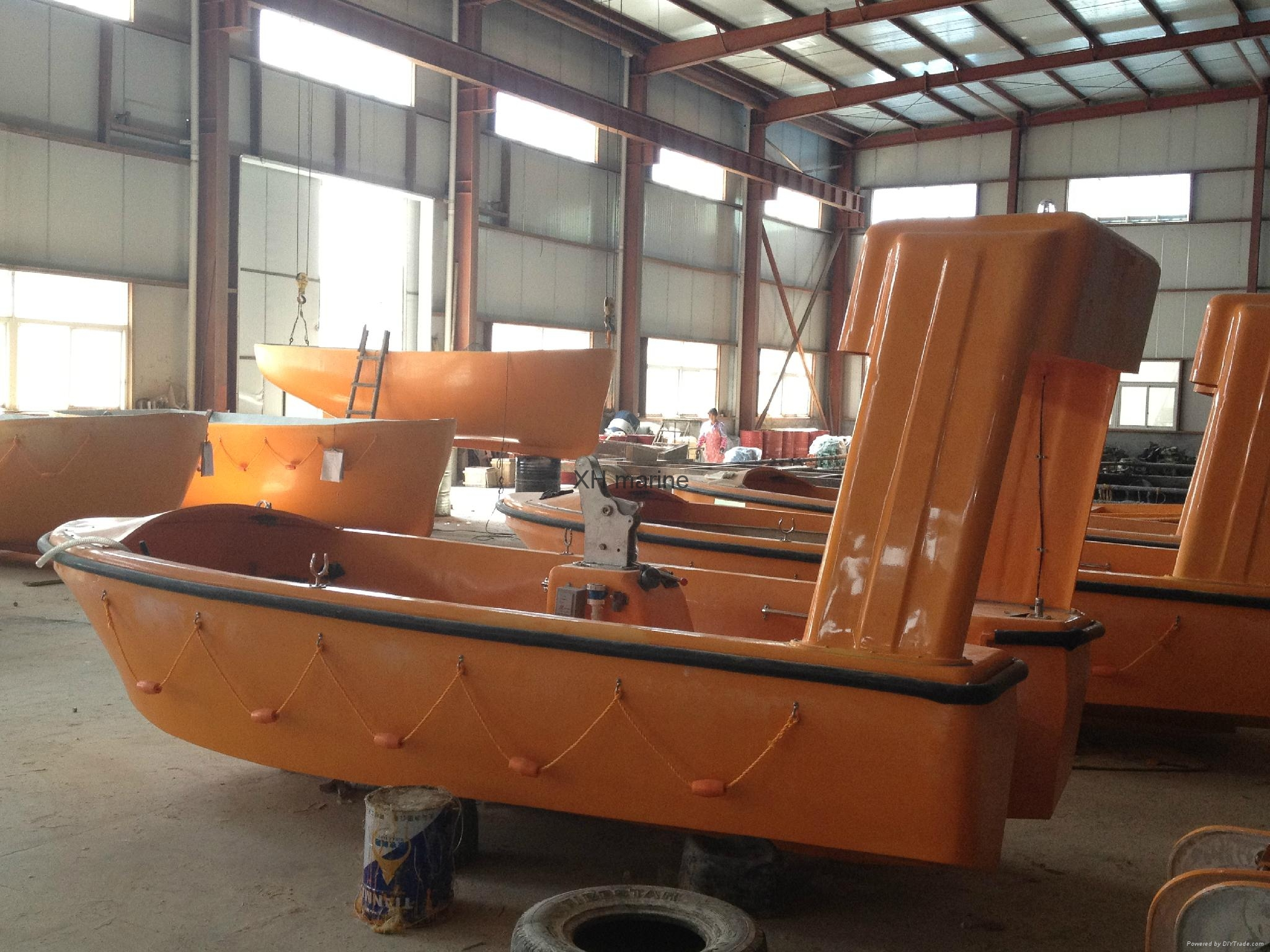 Marine lifesaving equipment rescue life boat ABS approved 5