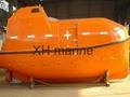 Marine life boat Used davit and engine