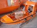 Rescue boat and single arm davit CCS
