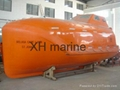 4.9m free fall lifeboat for cargo tanker