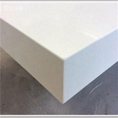 Engineered Synthetic Stone White Artificial Quartz Kitchen Countertops