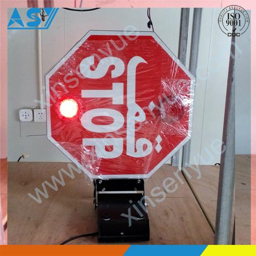 100% Production traffic signal sign for bus 1