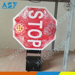 Safety Extended Bus Traffic Stop Lights