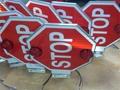 Ultra Bright School Bus Stop Sign