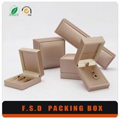 Luxury Plastic Leather Jewelry Box