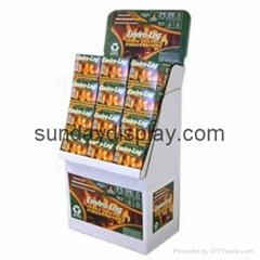 Snack floor display stand