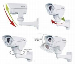 1.3 Megapixel 4X Optical Zoom Mini PTZ AHD Camera