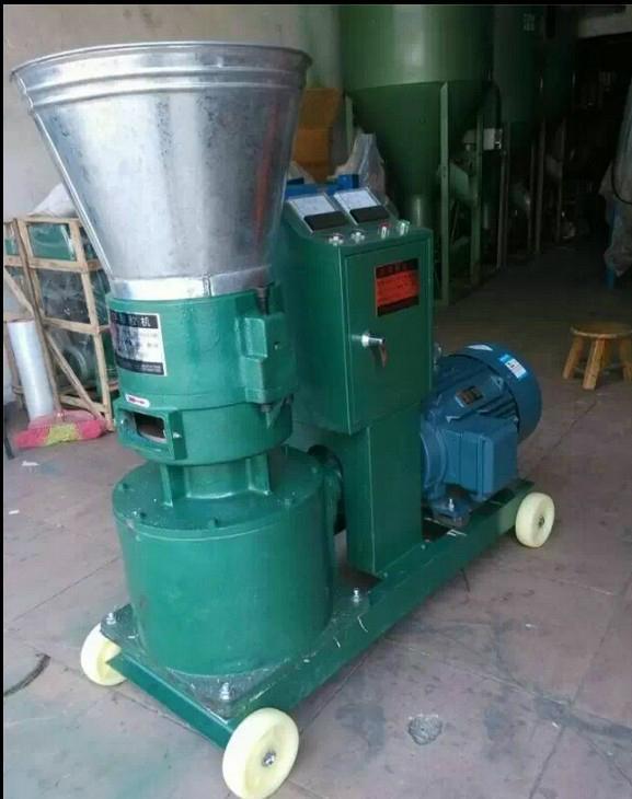 广州市恒通机械KL260饲料颗粒机 5