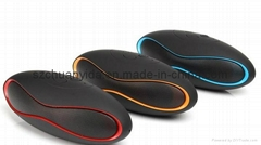 Mini Bluetooth Speaker for Wireless Rugby Mobile Phone Speaker with FM Radio