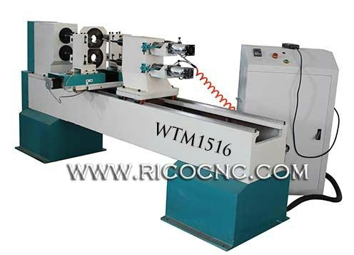 CNC Wood Lathe for Baseball Bats Woodworking Lathe for Sale WTM1516 1