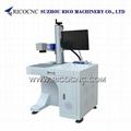 CNC Laser Marking Machine Metal Fiber