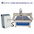 Wood Door Making Machine MDF Board Cutting CNC Router W1325V