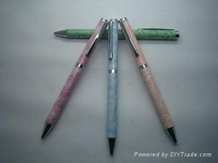Heat transfer film for pens