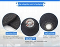 Cheap angle depressed abrasive sharpening grinding wheel for metal
