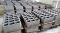 QT4-35A semi-automatic cement brick making machine
