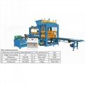 QT5-15 soil brick machine fully automatic block making production line