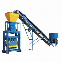 QT4-35A making brick concrete block moulding machine