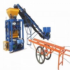 hydraulic making brick price semi automatic block concrete machine