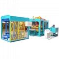 cement block moulding automatic production line brick concrete machine