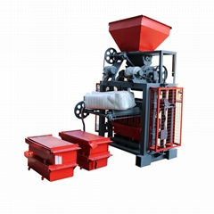 QT4-35A concrete hollow block price brick making machine