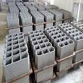QT4-35A concrete hollow block price brick making machine