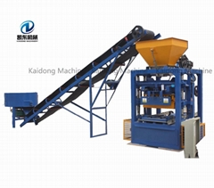 automatic cement price list concrete making hot sale brick block machine