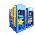 bricks production line automatic cement hollow block making machine
