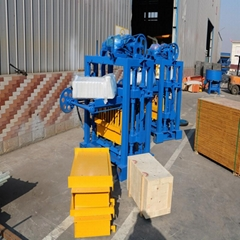 concrete moulding hollow price fully automatic block making machine