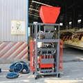 hollow price portable cement block machine brick making machines for sale