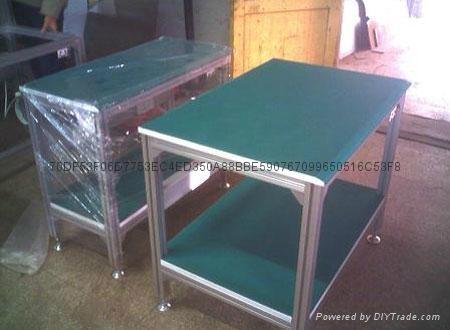 烟台铝型材工作台生产 2