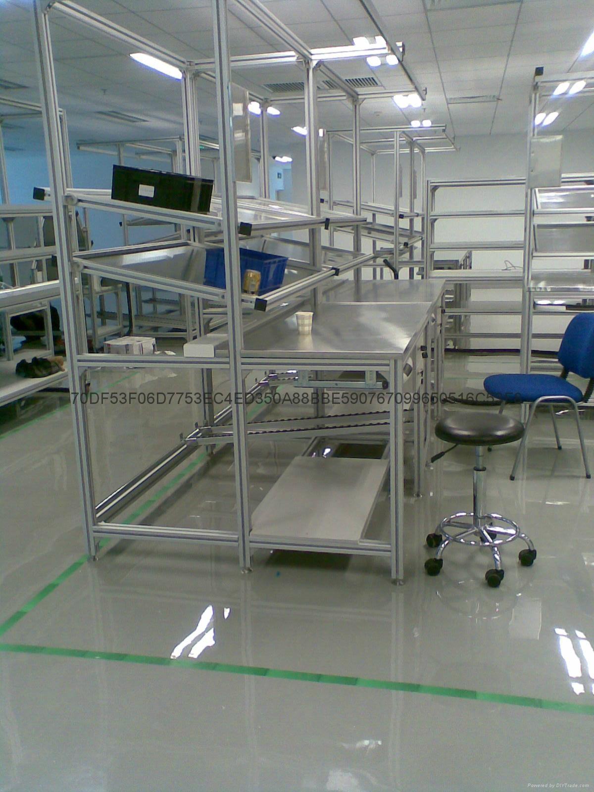 烟台铝型材工作台生产 4