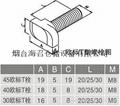 工业铝型材专用T型螺丝 2