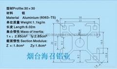 工业铝型材欧标30系列