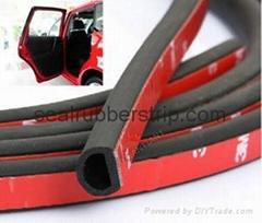 garage door weather stripping rubber for car automotive window auto door rv foam