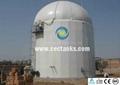 Anaerobic reactor porcelain enamel glass lined tank corrosion resistant