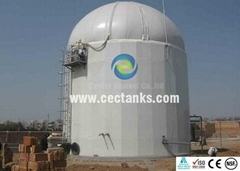 Anaerobic reactor porcelain enamel glass lined tank corrosion resistant