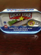 Canned sardines in vegetable oil 1