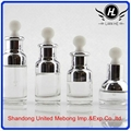 wholesale 20ml 30ml beauty care aluminium empty glass essential oil bottle with  1
