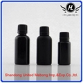 Cosmetic black frosted essential oil