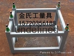 铸铁平板平台支架大理石平台可调支架