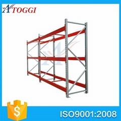 Medium duty warehouse storage steel she  ing