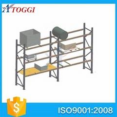 powder coating heavy duty warehouse mobile pallet shelf  rack