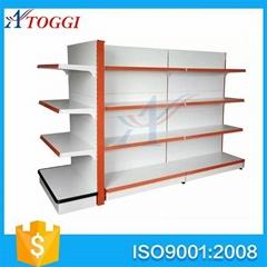 Cheap metal supermarket  shelf