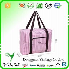 1680D Travel folding large duffle carry on luggage bag tote bag organizer foldab