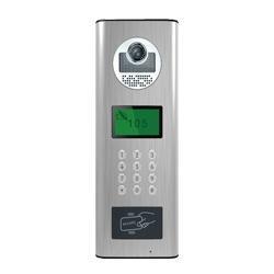 7寸液晶屏楼宇对讲门禁门口一体机 1