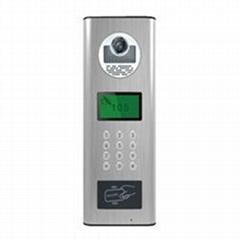 7寸液晶屏楼宇对讲门禁门口一体机